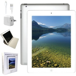 APPLE MD513LLA-ER Refurbished 16GB iPad(R) 4 with Wi-Fi (White)