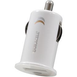 DURACELL DU1619 Mini USB Car Charger (White)