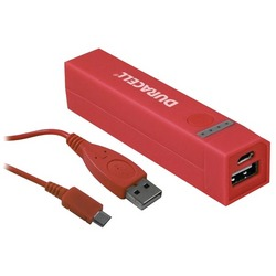 DURACELL DU7174 2,600mAh Power Bank (Red)