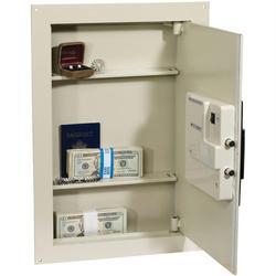 FIRST ALERT 2070AF Adjustable Antitheft Wall Safe with Digital L