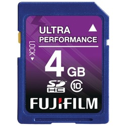 FUJIFILM 600008928 SDHC(TM) Card (4GB)