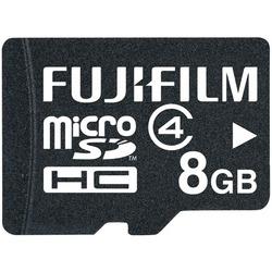 FUJIFILM 600008952 8GB Class 4 microSDHC(TM) Card