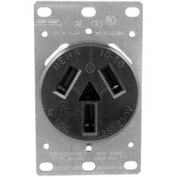 5206 Single-Flush Range Receptacle (3 wire)