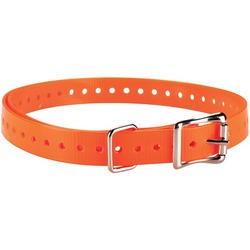 "GARMIN 010-11870-03 Delta(TM) 3/4""-Wide Collar Strap (Orange)"