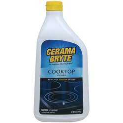CERAMA BRYTE 20928-2 Ceramic Cooktop Cleaner (28oz Bottle)