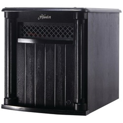 HUNTER H1500RC-BLK IR Wood Heater with Remote (Black)