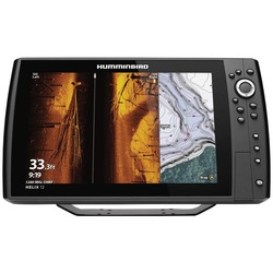 Category: Dropship Outdoors, SKU #HUM4109201, Title: Humminbird 410920-1 HELIX 12 CHIRP MEGA SI+ GPS G3N Fishfinder with Bluetooth & Ethernet