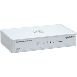 MANHATTAN 560696 Gigabit Ethernet Switch (5 Port)