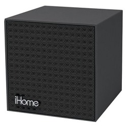 IHOME IBT16BBC Rubberized Bluetooth(R) Mini Speaker Cube with Re