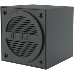 IHOME iBT16GC Rubberized Bluetooth(R) Mini Speaker Cube with Rec