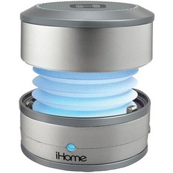 IHOME IBT59SY Color-Changing Bluetooth(R) Portable Mini Speaker