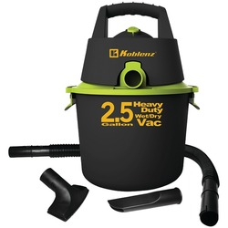 KOBLENZ WD-2.US 2.5-Gallon Wet/Dry Vacuum