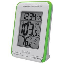 LA CROSSE TECHNOLOGY 308-1410GR Digital Indoor/Outdoor Thermomet