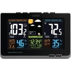 LA CROSSE TECHNOLOGY 308-1414B Wireless Color Forecast Station