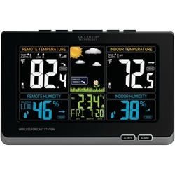 LA CROSSE TECHNOLOGY 308-1414MB Wireless Weather Station with Co