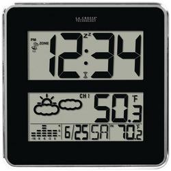 LA CROSSE TECHNOLOGY 512B-811 Large-Digit Atomic Clock with Indo