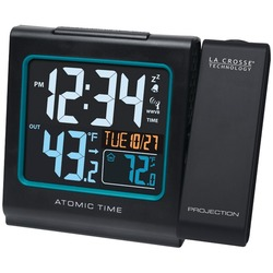 LA CROSSE TECHNOLOGY 616-146 Projection Alarm with Color Display