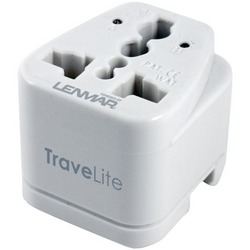 LENMAR AC150 TraveLite Ultracompact All-in-One Travel Adapter