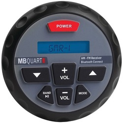 MB Quart GMR-1 Nautic Series GMR In-Dash Bluetooth(R)-Enabled Ga