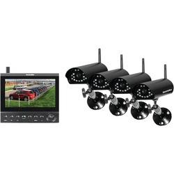 SECURITYMAN DigiLCDDVR4 Complete 2.4GHz Digital Wireless Camera
