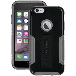 MACALLY KSTANDP6LB iPhone(R) 6 Plus/6s Plus Hard-Shell Case with
