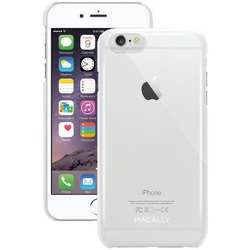 MACALLY SNAPP6LC iPhone(R) 6 Plus/6s Plus Snap-On Case (Clear)