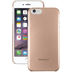 MACALLY SNAPP6LCH iPhone(R) 6 Plus/6s Plus Snap-On Case (Metalli