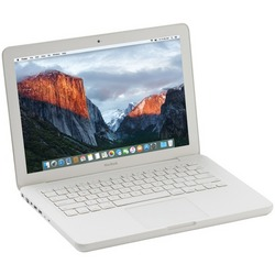 "APPLE MC207/C2D/4/250 Refurbished 13"" MacBook(R)"