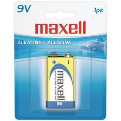 MAXELL 721110 - 6LF221BP Alkaline Batteries (9V; Single)