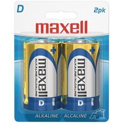 MAXELL 723020 - LR202BP Alkaline Batteries (D; 2 pk; Carded)