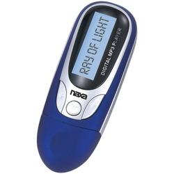 NAXA NM105BL 4GB MP3 Player with FM Radio (Blue)