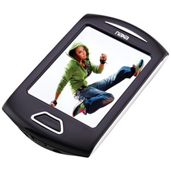 "NAXA NMV179SL 8GB 2.8"" Touchscreen Portable Media Players (Silve"