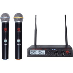 NADY U-2100 HT BAND A/B Dual UHF Wireless Handheld Microphone Sy
