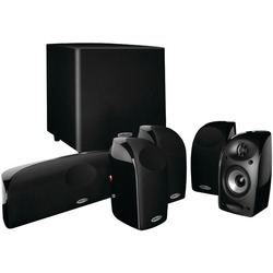 Category: Dropship Electronics, SKU #PLKTL160051SUB, Title: Polk Audio TL 1600 5.1 W/SUB TL1600 Complete 5.1 Speaker Package With Powered Subwoofer