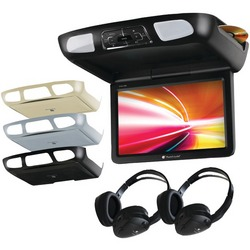 "PLANET AUDIO P10.1ES 10.1"" Ceiling-Mount TFT DVD Player with Bui"