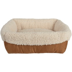 PetSpaces 11311-04 Faux-Suede Cuff Pet Bed
