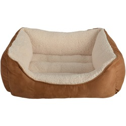PetSpaces 12311-01 Faux-Suede Rectangular Pet Bed (Medium)