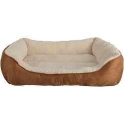 PetSpaces 13111-01 Faux-Suede Rectangular Pet Bed (Large)