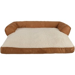 PetSpaces 13511-01 Faux-Suede Large Couch Pet Bed
