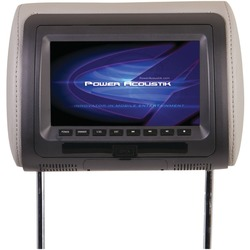 "POWER ACOUSTIK HDVD-71CC 7"" LCD Universal Headrest Monitor with"