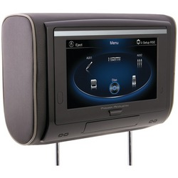 "POWER ACOUSTIK HDVD-94T 9"" LCD Universal Headrest with IR & FM T"