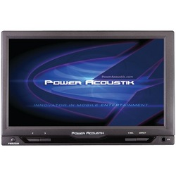 "POWER ACOUSTIK PT-712IRA 7"" Cut-in Widescreen Headrest Monitor w"