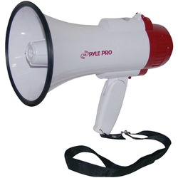 PYLE PRO PMP35R Professional Megaphone/Bullhorn with Siren & Voi