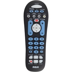 RCA RCR313BR 3-Device Big-Button Universal Remote with Streaming