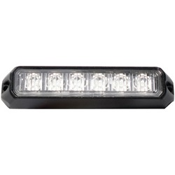 RACE SPORT RS-C3069SM6-A 6-LED Surface-Mount Light Head with Str