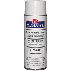 MOHAWK M102-0421 Clear Flat Lacquer Spray