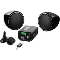 SOUNDSTORM SMC75 Motorcycle/UTV 600-Watt Amp & Speaker System wi