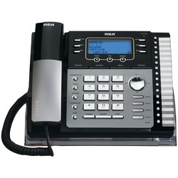 RCA 25425RE1 4-Line Corded Phone (with Caller ID, answering syst