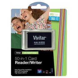 VIVITAR VIV-RW-50 50-in-1 Card Reader