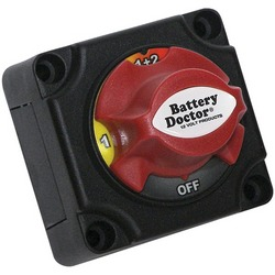 BATTERY DOCTOR 20393 Mini Master Disconnect Switch (Dual Battery